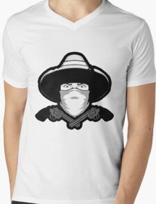 Vaquero Mens V-Neck T-Shirt