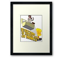 Everything is Better with CG monkies Framed Print