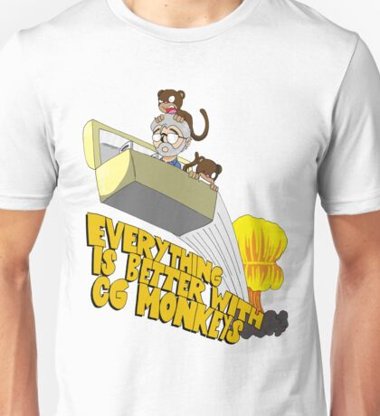Everything is Better with CG monkies Unisex T-Shirt