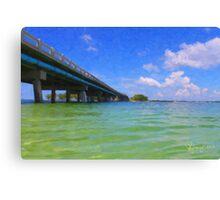 Longboat Pass Troll  Canvas Print