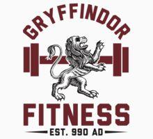 Gryffindor Fitness Tshirt by J B