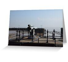 Old Coastal Defences Greeting Card