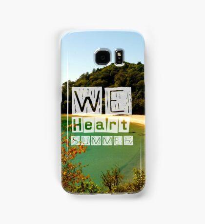 WeHeartSummer - NZ Phone Case Samsung Galaxy Case/Skin
