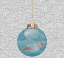 Goldfish Aqua Bauble One Piece - Long Sleeve