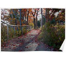 Autumn in Acadia Poster