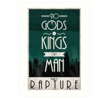 Rapture Travel Poster Art Print