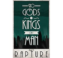 Rapture Travel Poster Photographic Print