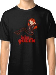 God Save the Queen (of Hell) Classic T-Shirt