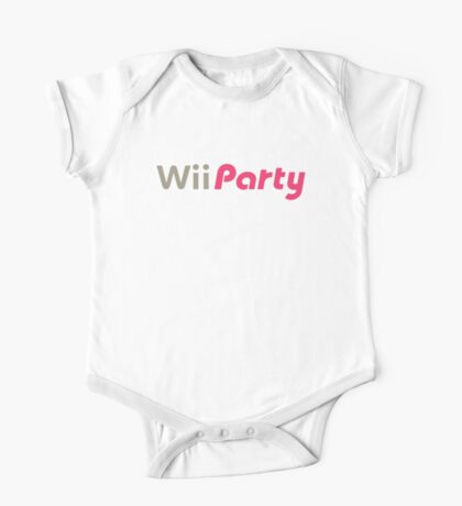 Wii Party One Piece - Short Sleeve