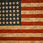 American Flag by Jasper Johns by Gordon Traill