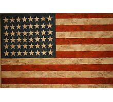 American Flag by Jasper Johns Photographic Print