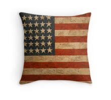 American Flag by Jasper Johns Throw Pillow