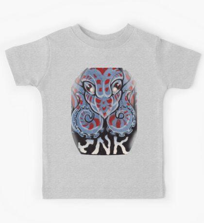 octopus ink. Kids Tee