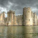 Bodiam Castle by Flossy13