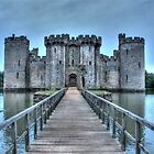 Bodiam drawbridge by Flossy13