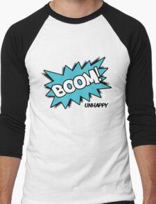 BOOM! Unhappy Men's Baseball ¾ T-Shirt