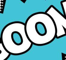 BOOM! Unhappy Sticker
