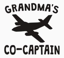 Grandma's Co-Captain Kids Tee
