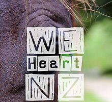WeHeartNZ - Phone Case by haewee