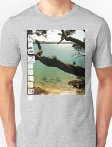 New Zealand - Whale Bay - Tshirt T-Shirt