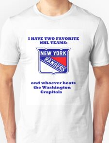 I have two favorite NHL teams T-Shirt