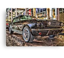 FORD MUSTANG HDR Canvas Print
