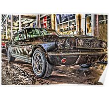 FORD MUSTANG HDR Poster