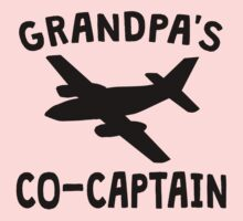 Grandpa's Co-Captain One Piece - Long Sleeve