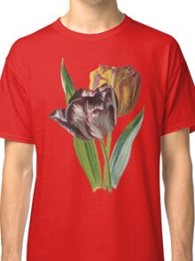 Tulip Vector on White Background Classic T-Shirt