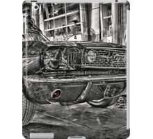 FORD MUSTANG HDR - Black and White version iPad Case/Skin