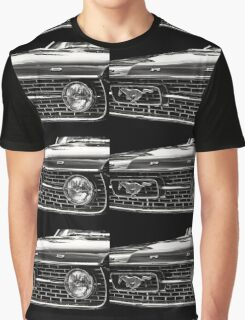 close up of Ford Mustang Graphic T-Shirt