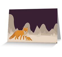 Christmas-Ish Card with Fox Greeting Card