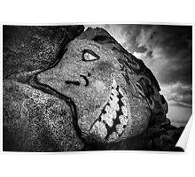 Granite Grin Poster