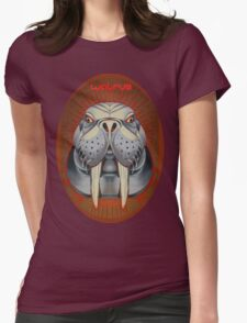 lolrus. I mean walrus. Womens Fitted T-Shirt