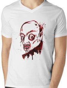 Bloody Nosferatu Mens V-Neck T-Shirt