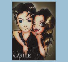 castle promo fanart Kids Tee