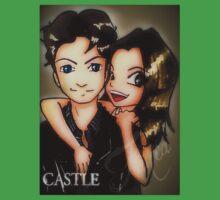 castle promo fanart Baby Tee
