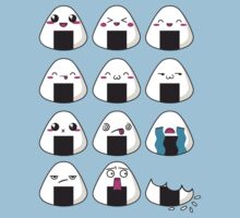 Onigiri emotions by manikx