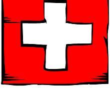 Switzerland Flag by kwg2200