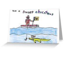 Sweet Territory Christmas - Omri Greeting Card