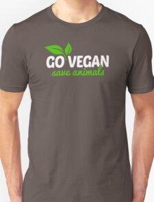 Go Vegan Save Animals T-Shirt