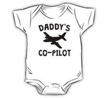 Daddy's Co-Pilot One Piece - Short Sleeve