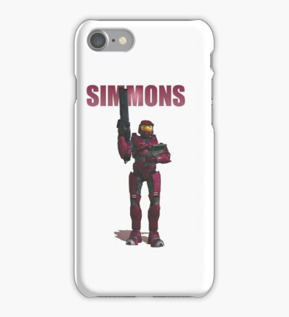 Simmons iPhone Case/Skin