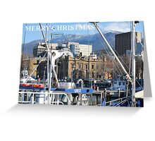 Hobart Waterfront - Tasmania Greeting Card