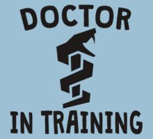 Doctor In Training Baby Tee