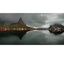 Morning in Reine Photographic Print