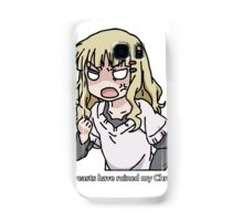 Your breasts have ruined my christmas! (Yuru yuri) Samsung Galaxy Case/Skin