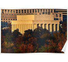 The Lincoln Memorial - Washington D.C. Poster