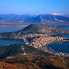 Kastoria town & Orestiada lake by Hercules Milas