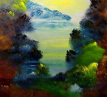 Bass Lake by David Snider